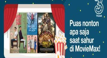 Cara Menggunakan Bonus Kuota MovieMax