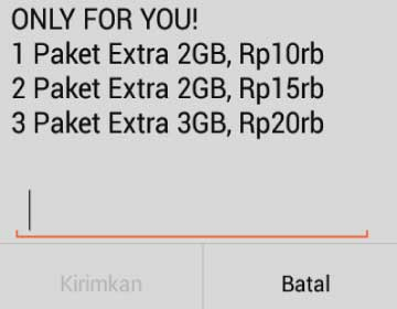Trik Paket Murah Indosat Only for You 40 GB 75 ribu