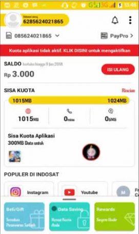Trik Kuota Murah Indosat Ooredoo