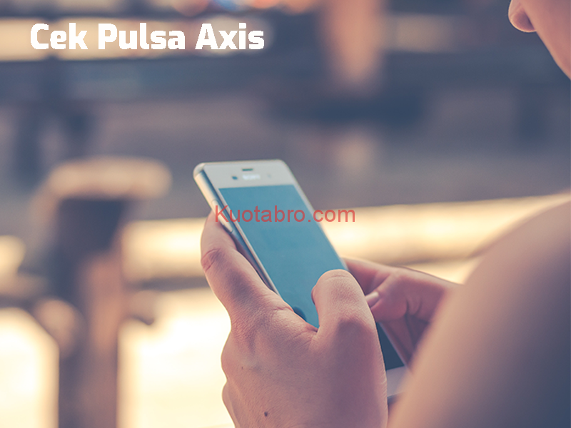 nomor cek pulsa axis