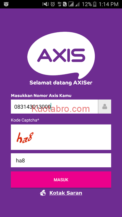 cek pulsa internet axis