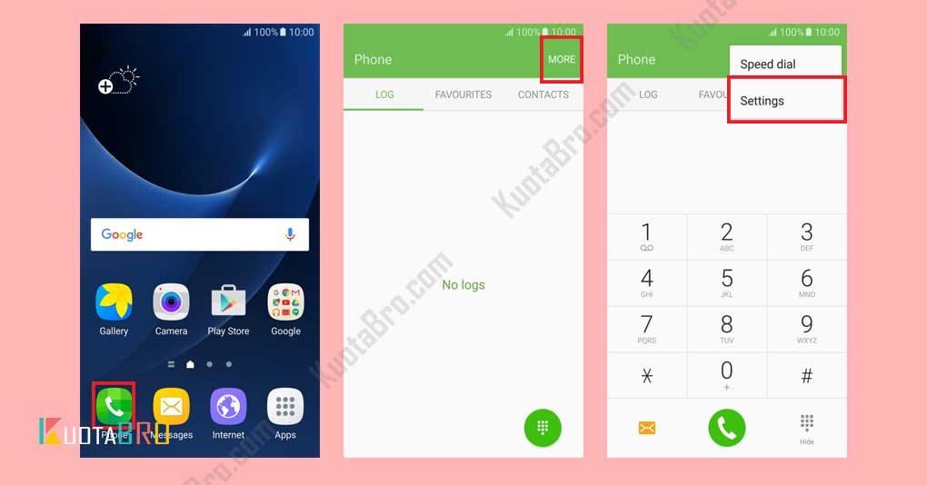 mengatasi panggilan keluar dibatasi FDN di Android