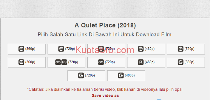 cara download film gratis
