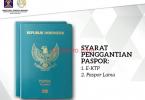syarat memperpanjang paspor