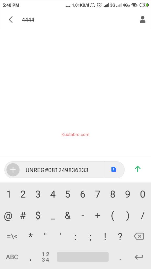 cara registrasi kartu telkomsel lewat sms