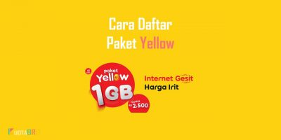 3 Cara Daftar Paket Yellow Indosat 1GB 2000