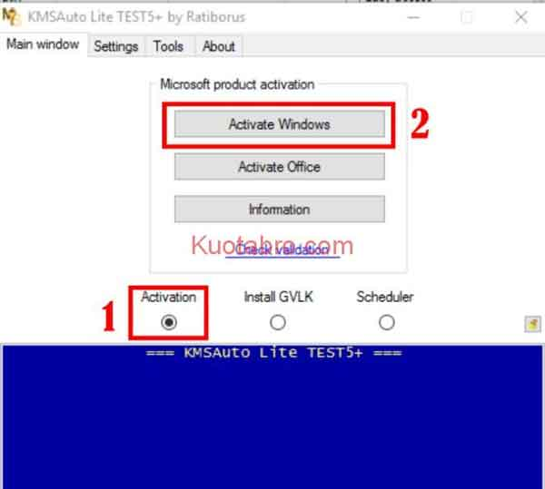 Aktivasi Windows 10 Menggunakan KMS Auto Lite