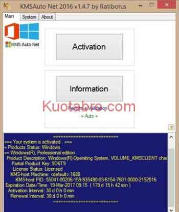 Aktivasi Windows Menggunakan KMSAuto Net