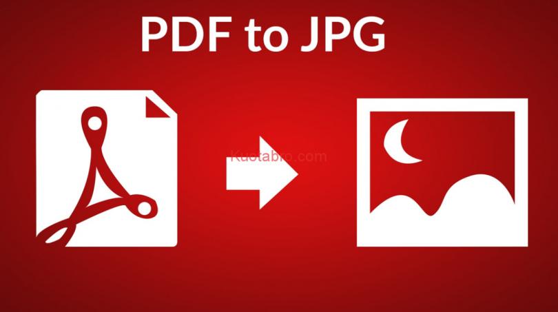 cara merubah pdf ke jpg