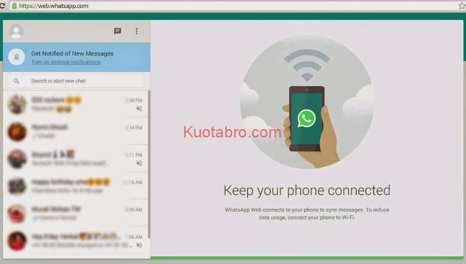 Cara Menggunakan WA Web dengan Benar, Ikuti Tutorial Ini - whatsapp web