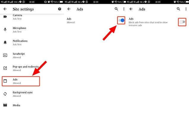 Cara Menghilangkan Iklan di Chrome pada HP Android - 3 5