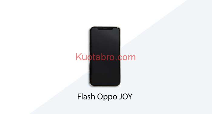Cara Flash Oppo Joy R1001