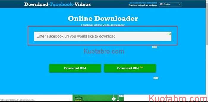 Download Video di Facebook Online