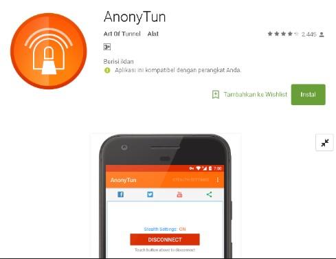 Aplikasi Anonytun