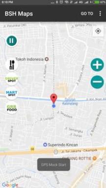 Aplikasi BHS Maps