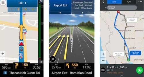 Aplikasi CoPilot GPS Peta Offline