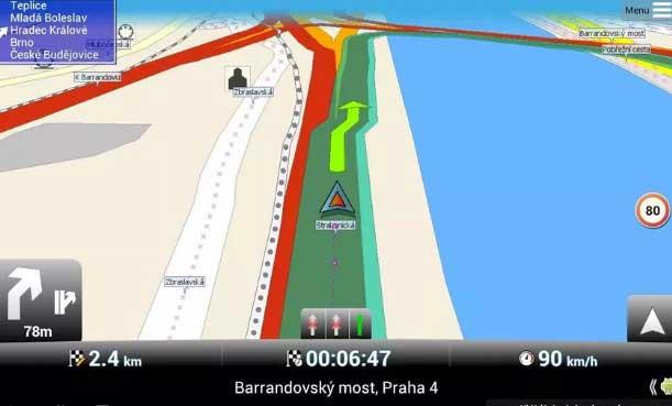 Aplikasi MapFactor GPS Navigation Maps