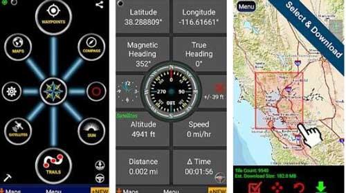 Aplikasi Polaris GPS Navigation