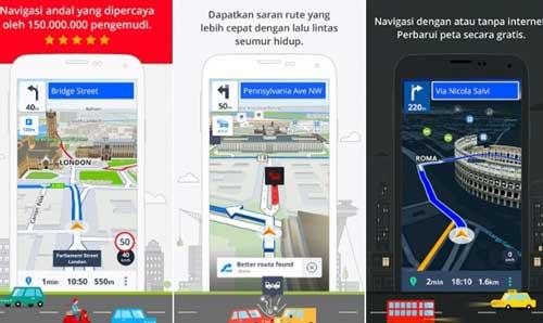 Aplikasi Sygic GPS Navigation & Peta
