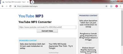 Cara Download Youtube Jadi MP3 di PC Menggunakan YouTube-MP3