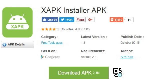 Cara Instal XAPK dengan ApKpure