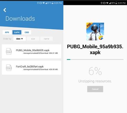 Cara Instal XAPK dengan Uptodown App)
