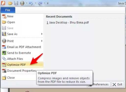 Cara Kompres PDF dengan NitroPDF