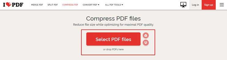 Cara Kompress PDF Online Tool iLovePDF