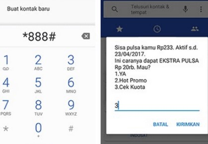 Cek Masa Aktif Telkomsel via Dial