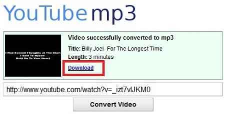 Download Lagu MP3 Dari Youtube di Laptop via Youtube-MP3.org
