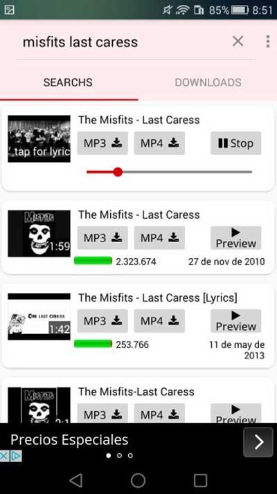 Download MP3 dari Youtube di HP dengan Aplikasi YT3