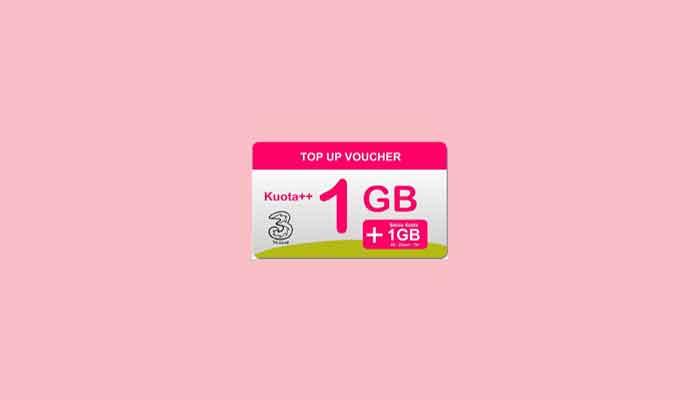 2020] Kode Voucher Kuota Tri Gratis 3G/ 4G Yang Masih Aktif