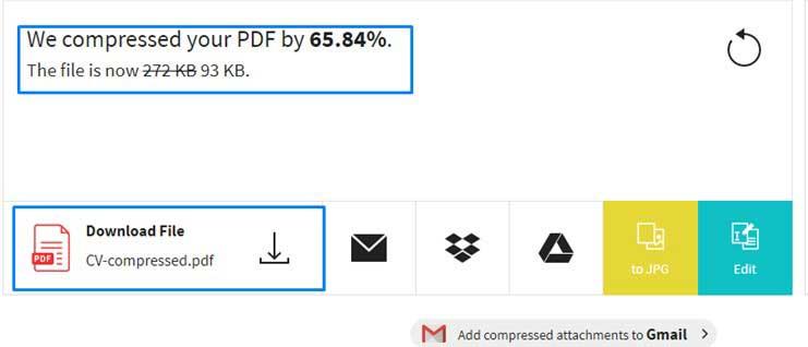 Kompress PDF Online dengan Tool Small PDF