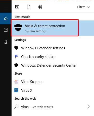 Matikan Aplikasi Virus