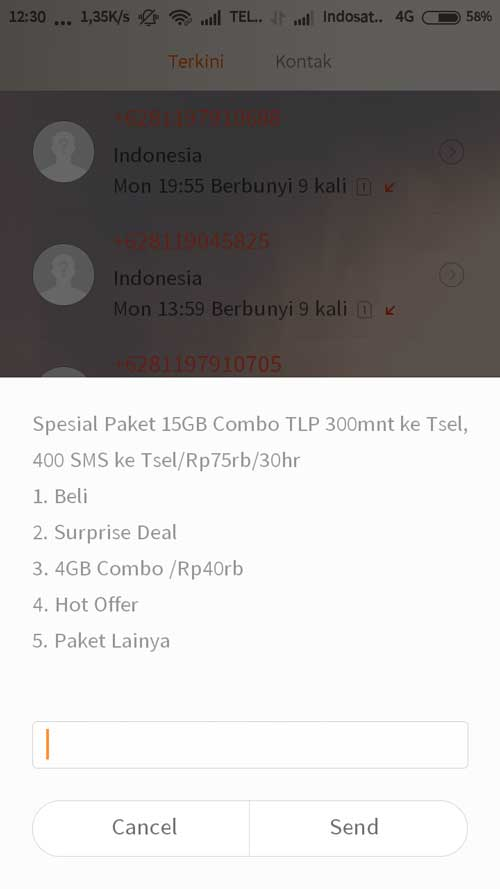 Paket Combo Telkomsel