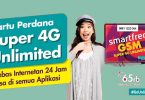 Paket Internet Smartfren GSM Unlimited