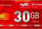 Paket Internet Telkomsel 30GB