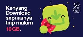 Paket Kenyang Download Tri