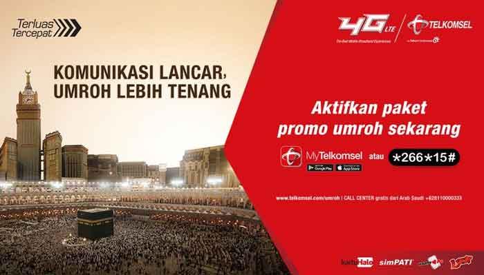 Paket Umroh Telkomsel Terbaru