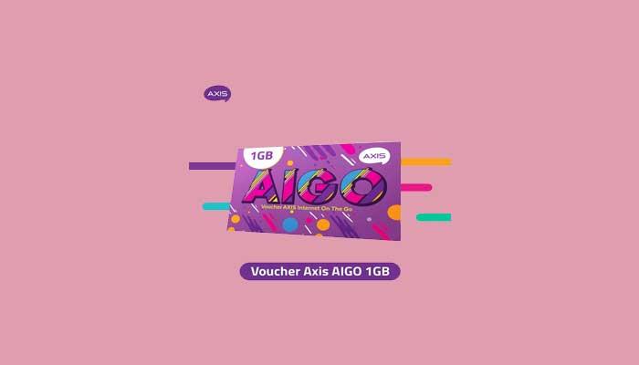 Voucher AXIS Aigo