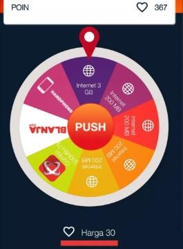 Wheel of Poin My Telkomsel