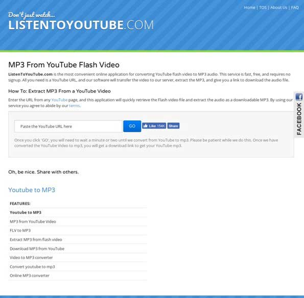 Youtube Download Lagu MP3 Gratis ListentoYoutube.com