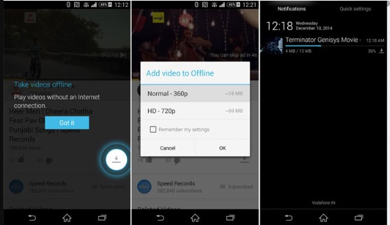 Youtube Tanpa Kuota dengan Fitur 'Offline'