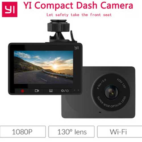 Xiaomi Yi Compact Dashboard Camera