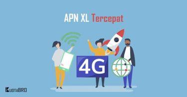 APN XL 4G Tercepat