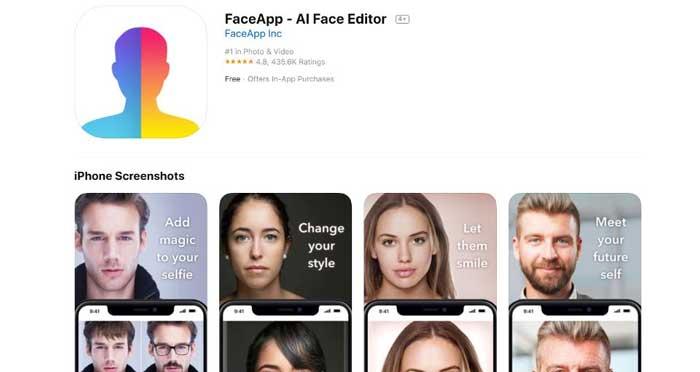 Aplikasi FaceApp Edit Wajah Jadi Tua