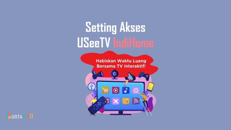 Cara Akses USeeTV IndiHome Via Wireless F609