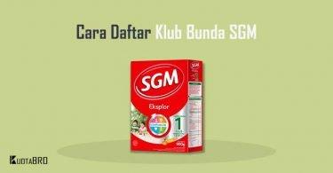 Cara Daftar Klub Bunda SGM