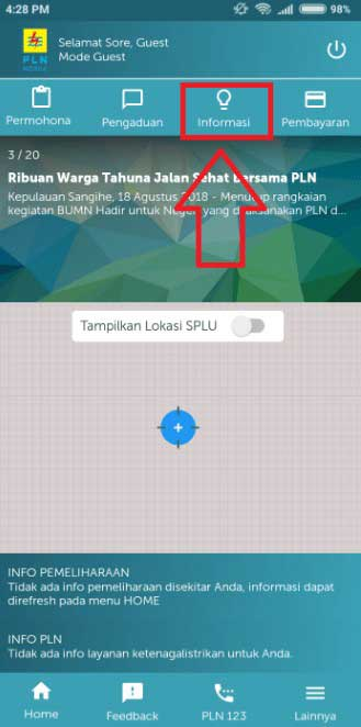 Cek Tunggakan Listrik PLN Via Smartphone Android