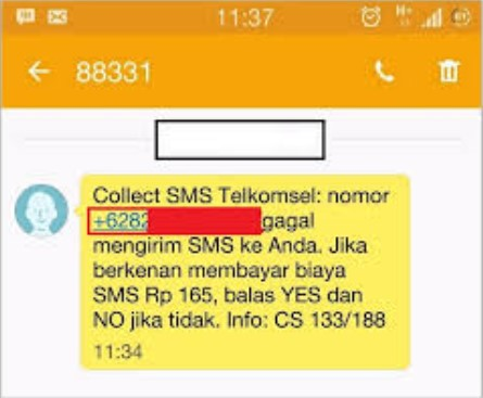 Collect SMS Telkomsel